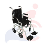 DRIVE™ - PolyFly High Strength, Lightweight Wheelchair/Flyweight Transport Chair Combo