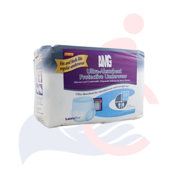 AMG - Ultra-Absorbent Protective Underwear For Men and Women