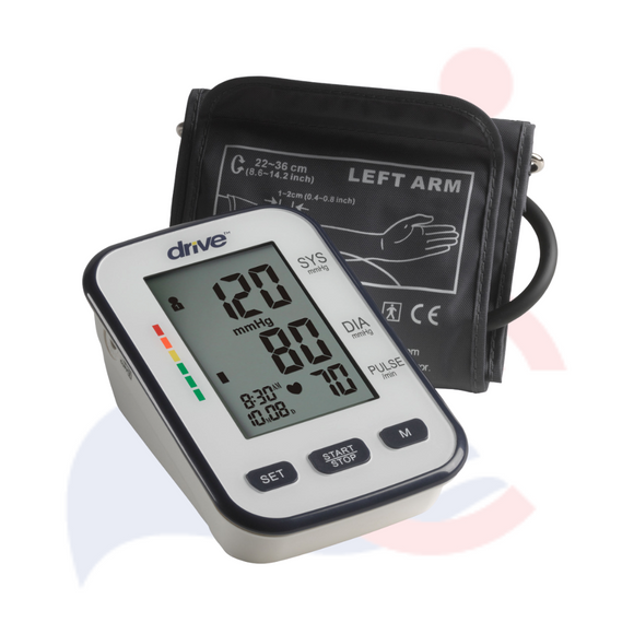 DRIVE™ - Medical Deluxe Automatic Blood Pressure Monitor