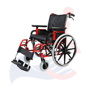 Eclipse™ Endeavor Manual Wheelchair - Red