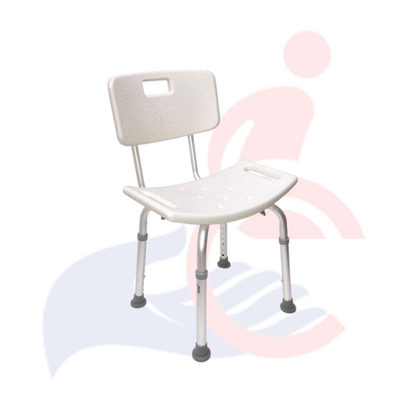 RENTAL - Bath Chair with Backrest