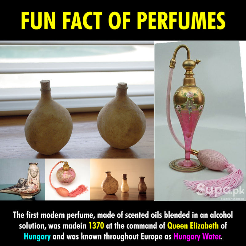 DID YOU KNOW THE HISTORY OF PERFUME?