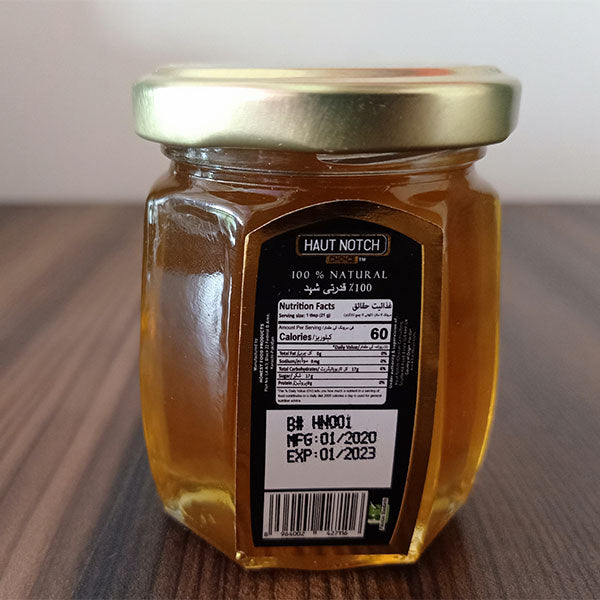 Haut Notch Choice Blossom Honey 250g Premium Quality HNC - Pack of 3
