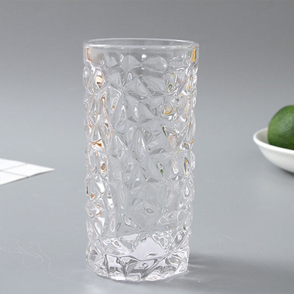 Small Glass Flower Vase Stylish Decoration Piece