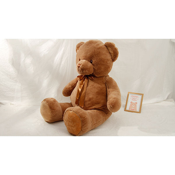 Large Size Adorable Bear Plush Doll Soft & Fluffy- Brown