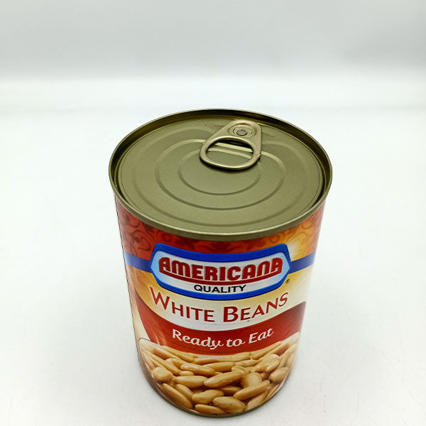 Americana quality White Beans Pre Cooked - Pack of 3