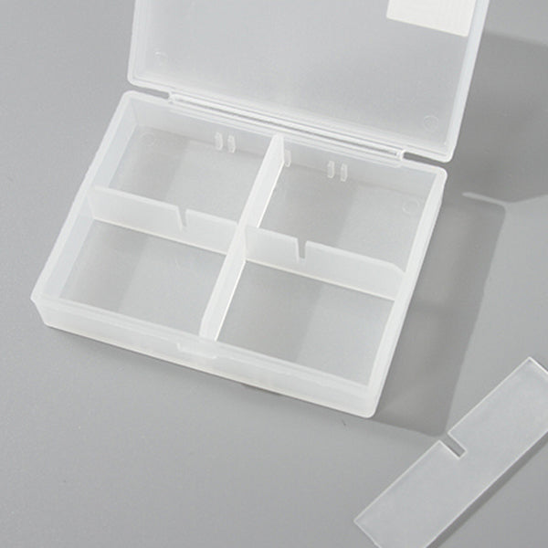 6-Compartment Divided Storage Case