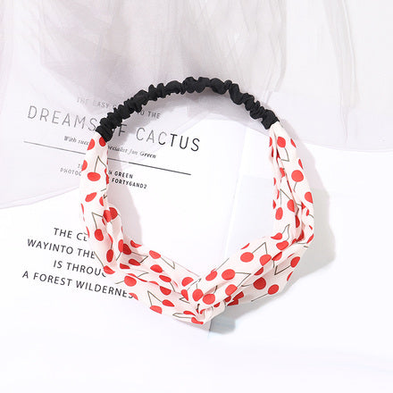 Cherry Series Criss Cross Headband (Children Hair Band )