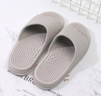 Massaging Dots Comfortable Shower Slippers for Men