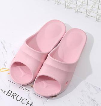 Classic Simple Style Shower Slippers for Women