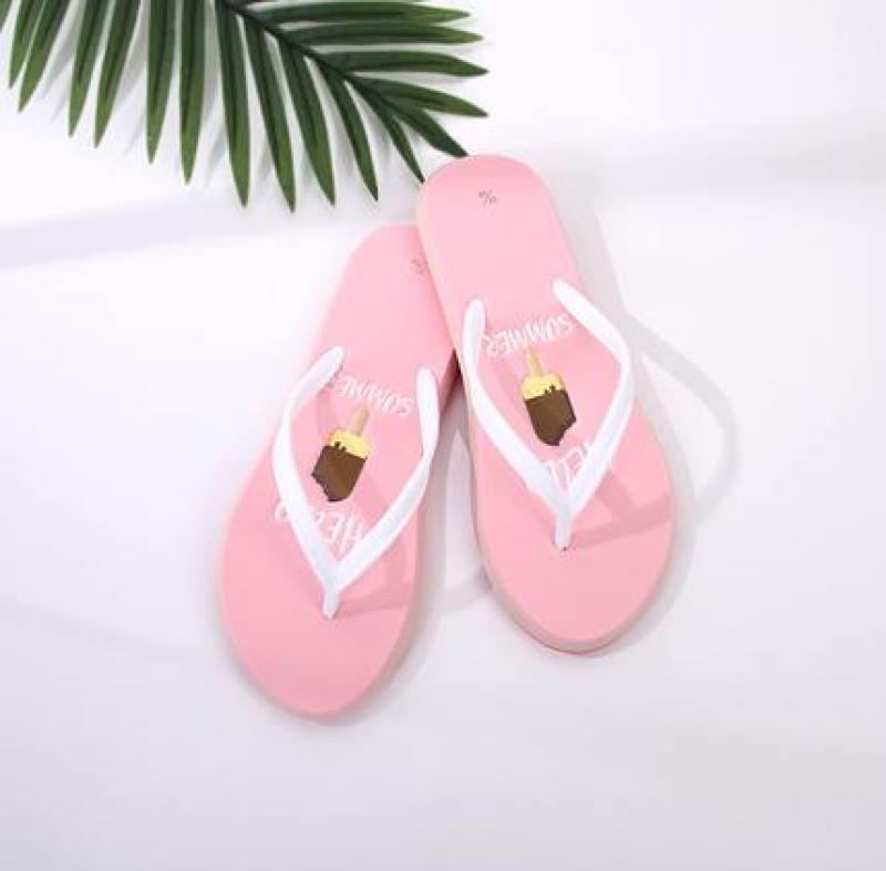 Summer Style Thick-Sole Flip Flops for Women
