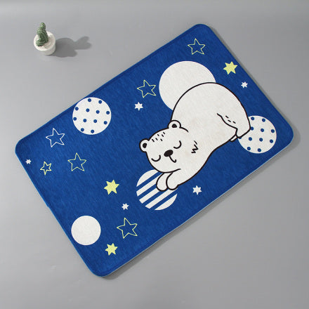 Cartoon Cat Floor Mat