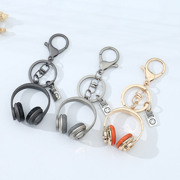 Headphone Key Chain (Price For 1 Piece)