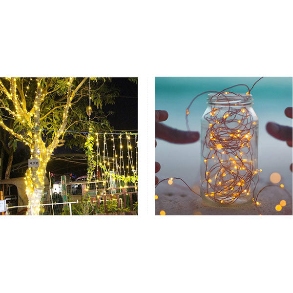 8 Modes Solar String Lights Dustproof & Waterproof