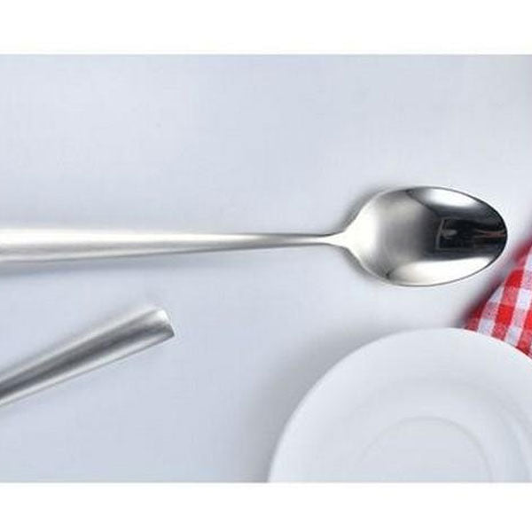 Abrasion Resistant Spoon For Vip Tables-Stainless Steel-Round Edges