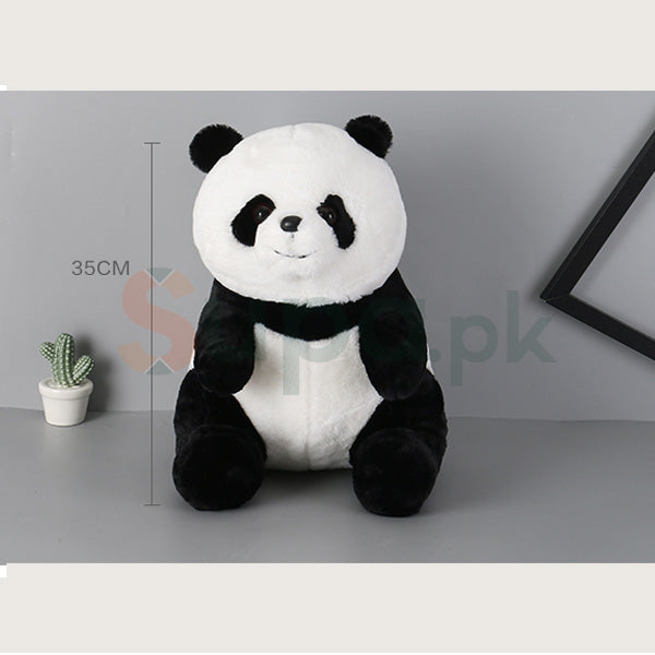 Adorable Panda Plush Doll (Middle Size) (Toys for Kids)
