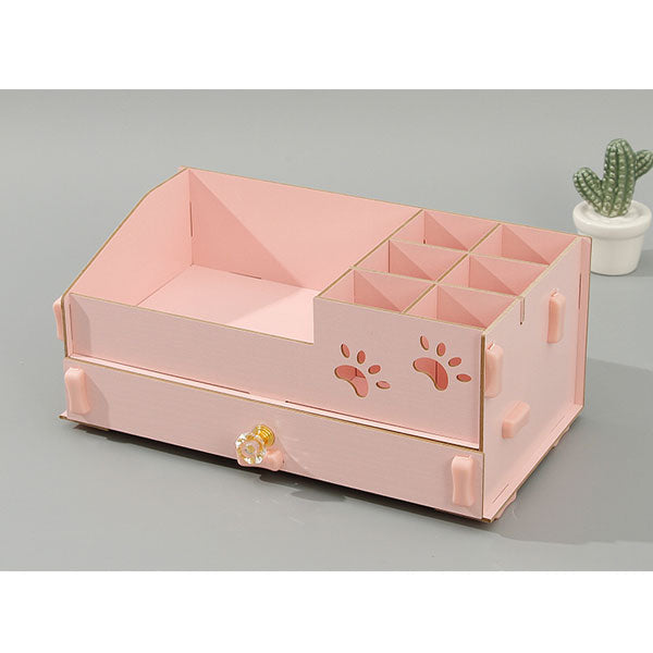 Adorable Series Adjustable 6-Compartment Divided Storage Case