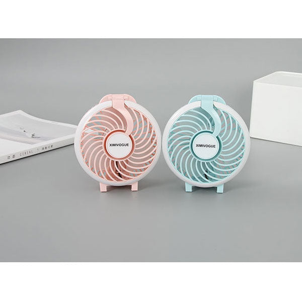 Air Fan Handheld Fan With LED light (Price For 1 Piece)