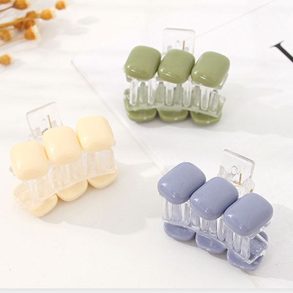 All-Match Beads Small Hair Claw Clip
