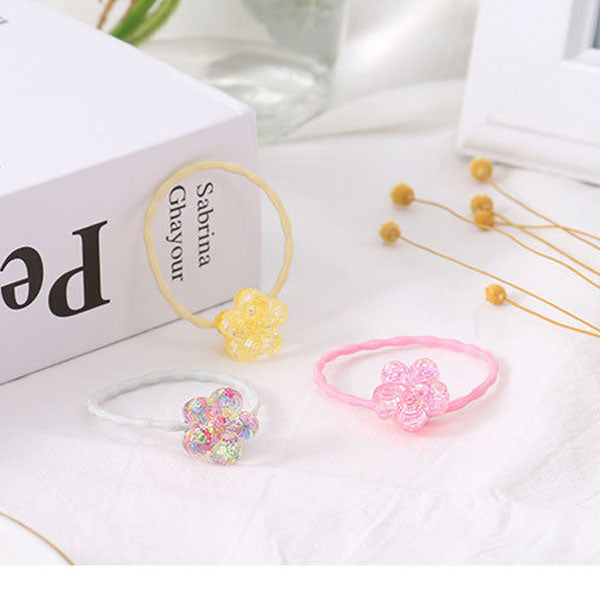 Attractive Flower Hair Tie for Children