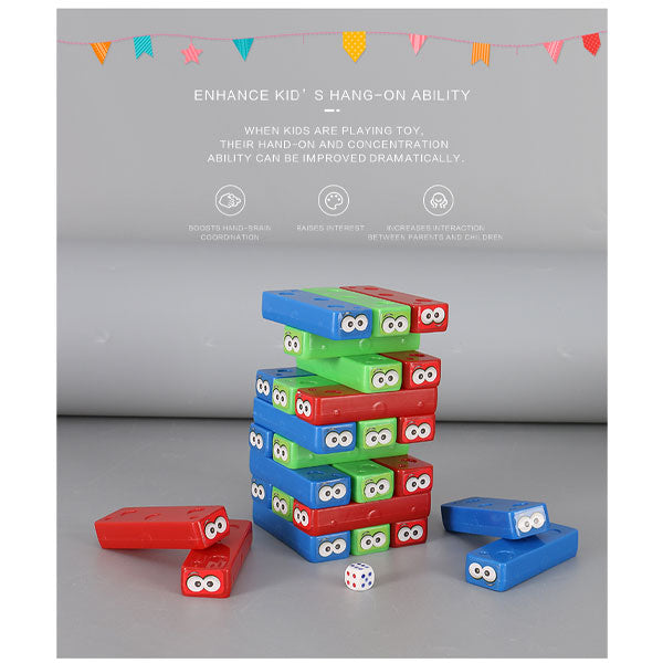 Block Stacking Game Toy