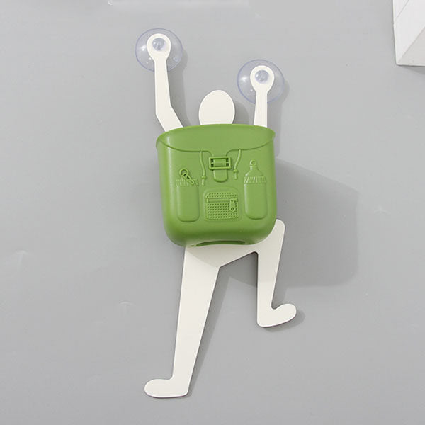 Cartoon Climbing Pose Style Soap Holder