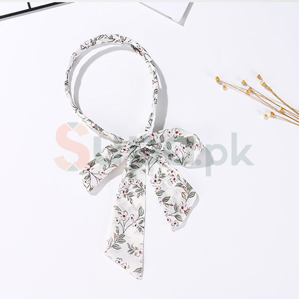 Classic Womens Ribbon Head Band (Online Jewellery)
