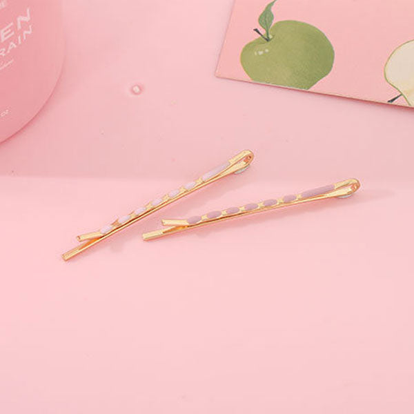 Colored Coating Bobby Pin, Children Hair Clip