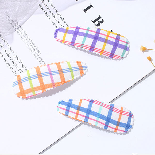 Colorful lines Hair Snap Clip