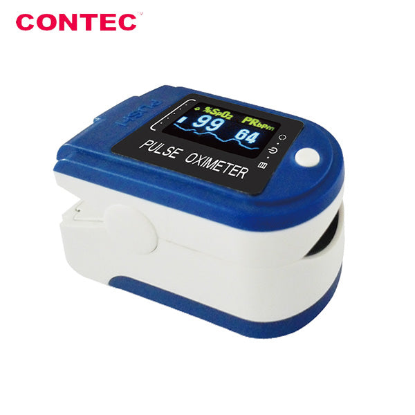 Contec OLED Display Fingertip Pulse Oximeter CMS-50D