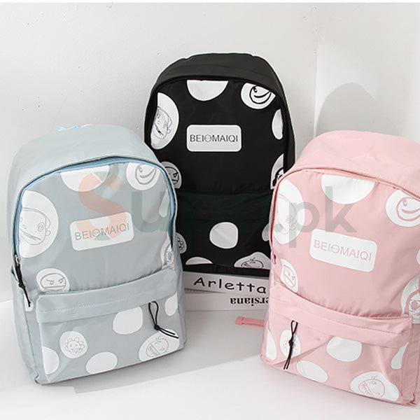 Creative Monster Print Backpack (Ladies Bag online)