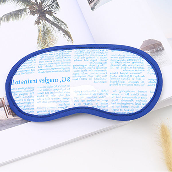Creative Newspaper Pattern Sleep Eye Mask