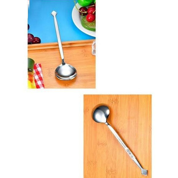 Creative Square Shape Spoon For Vip Tables-Stainless Steel-Round Edges