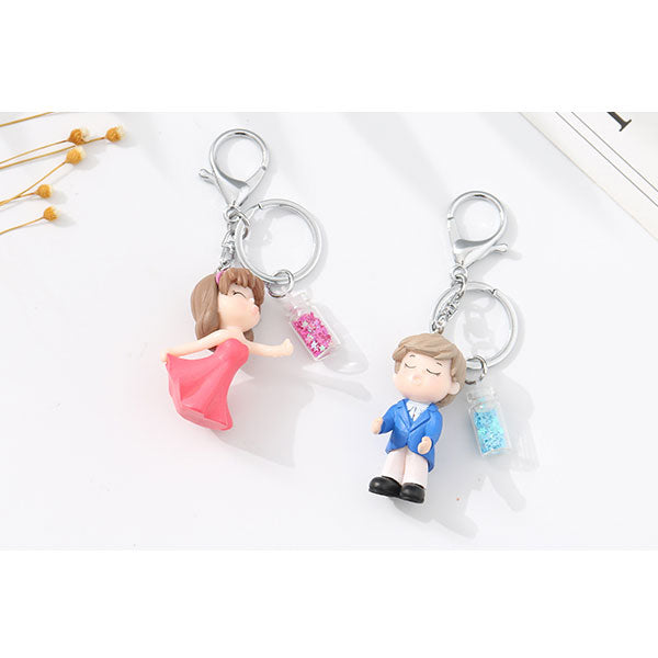 Dancing Couple Keychain (Price For 1 Piece)