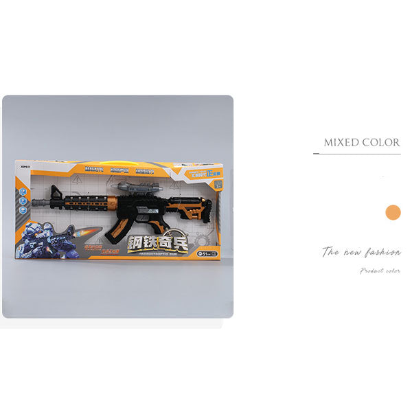 Dazzling Electric Gun Toy with Light Effect