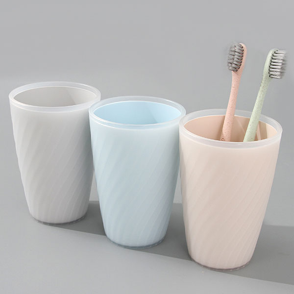 Dual-Color Toothbrushing Gargle Cup