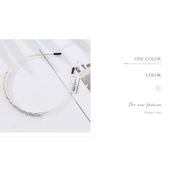 Elegant Crystal Hair Hoop