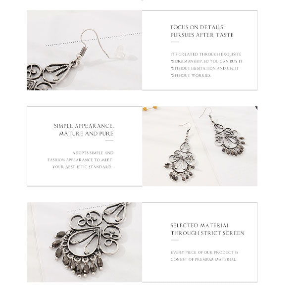 Ethnic Style Elegance Earrings