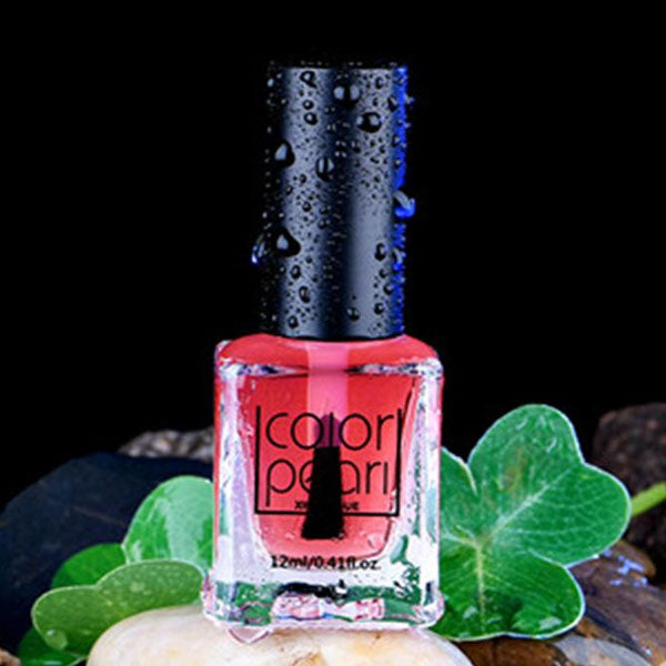 Flower Fragrance Perfume Nail Enamel (Bright Pink) - 12Ml