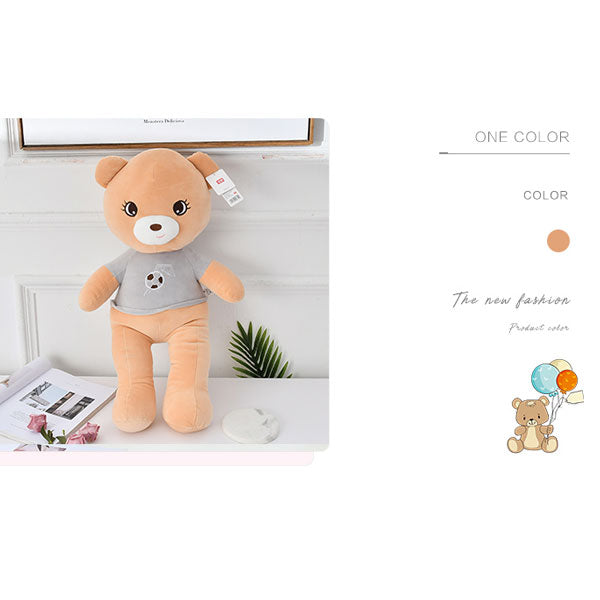 Football Bear Plush Doll