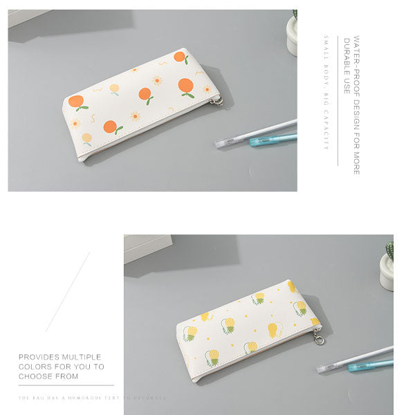 Fruit Collection Pencil Case (Price For 1 Piece)
