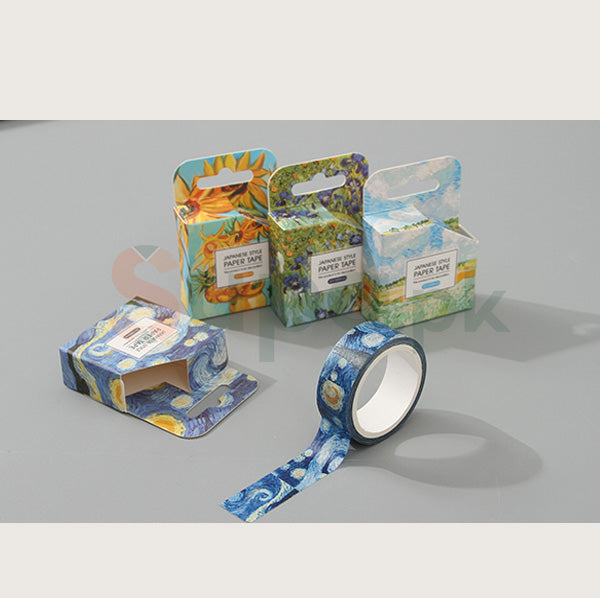 Japanese Style Paper Tape (Love Van Gogh) (Price For 1 Piece)