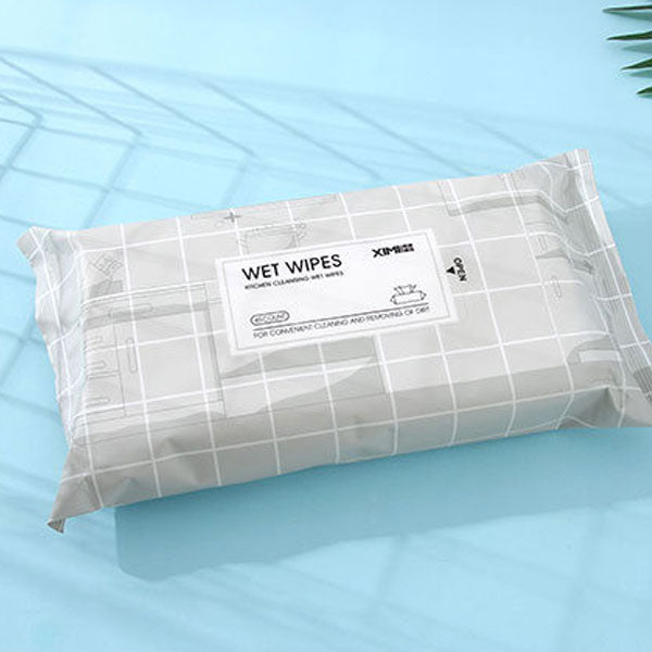 Kitchen Cleansing Wet Wipes