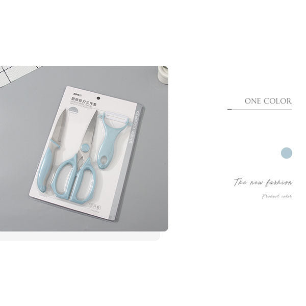 Kitchen Scissors 3-in-1 Set For Home Use