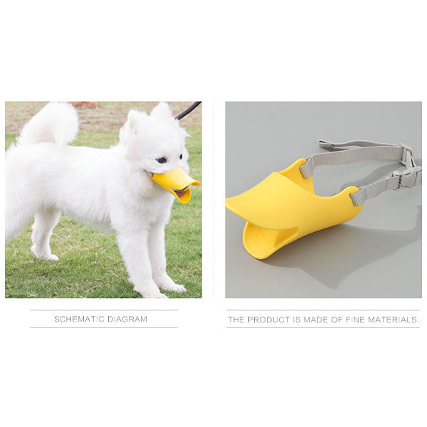 Large-Sized Duck Mouth-Shaped Dog Muzzle (Price For 1 Piece)