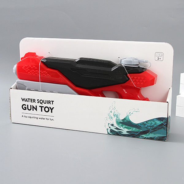 Large-Sized Red Water Squirt Gun Toy