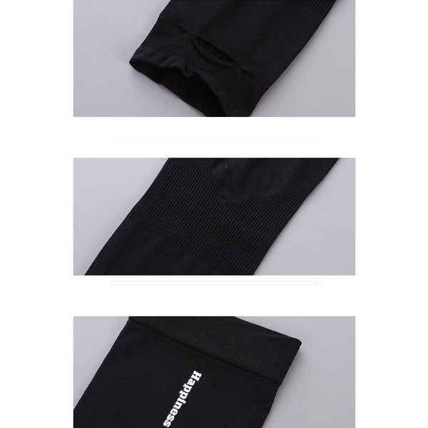 Letter Pattern UV Protection Cooling Sleeves