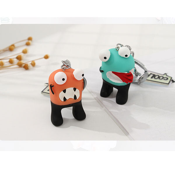 Monster Bag Charm Keychain Pendant (Price For 1 Piece)