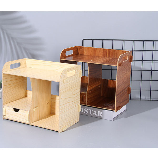 Multi-Compartment Storage Organizer with Drawer