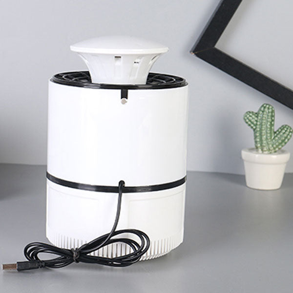 Noiseless Mosquito Catcher Killer with Suction ZY-04 (White)